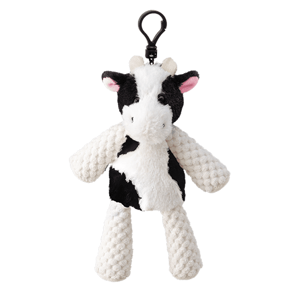 Clover the Cow Buddy Clip + Black Raspberry Vanilla Fragrance
