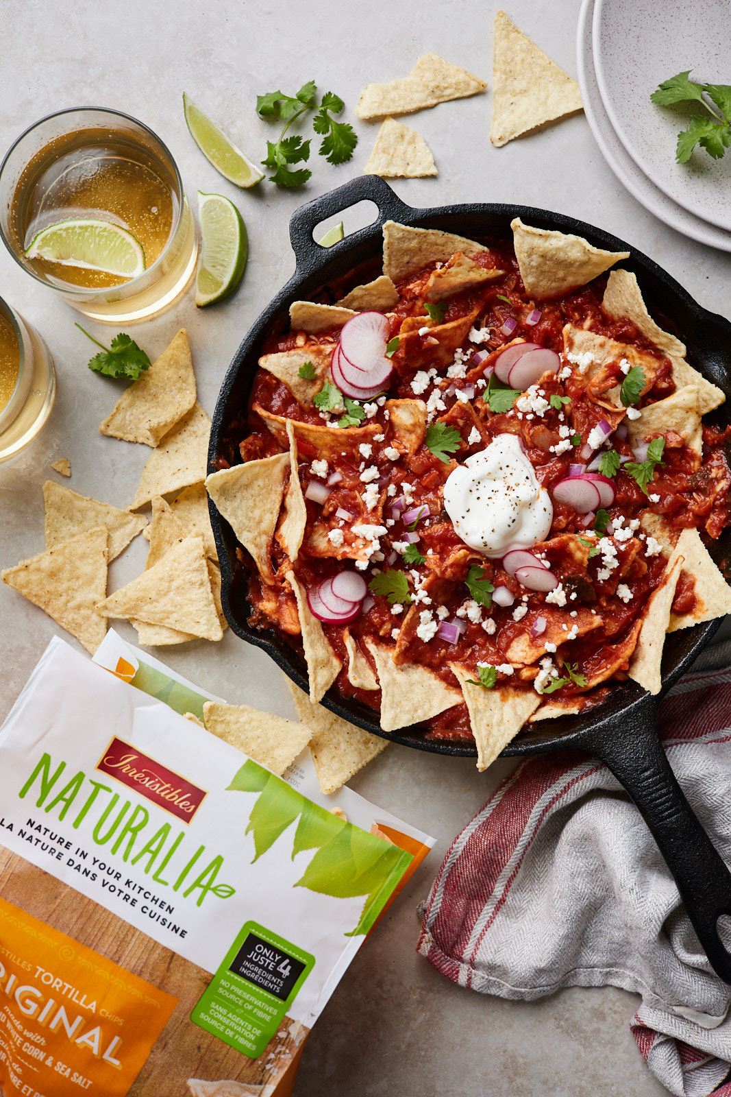 Easy Skillet Chilaquiles