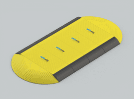 Heavy Duty Plastic (GRP) Road Plates
