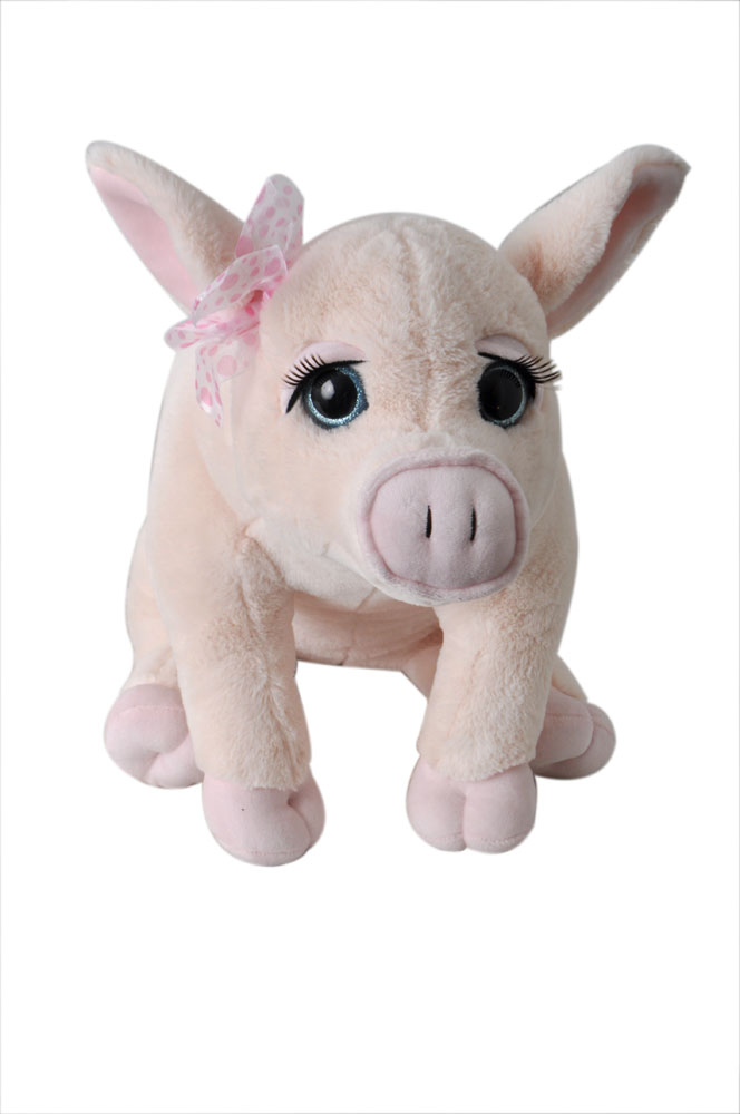 "The Petting Zoo: 20"" Lash'z Jumbo Pig"