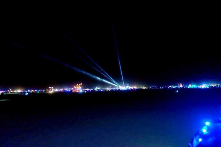 Burning Man Vast Night