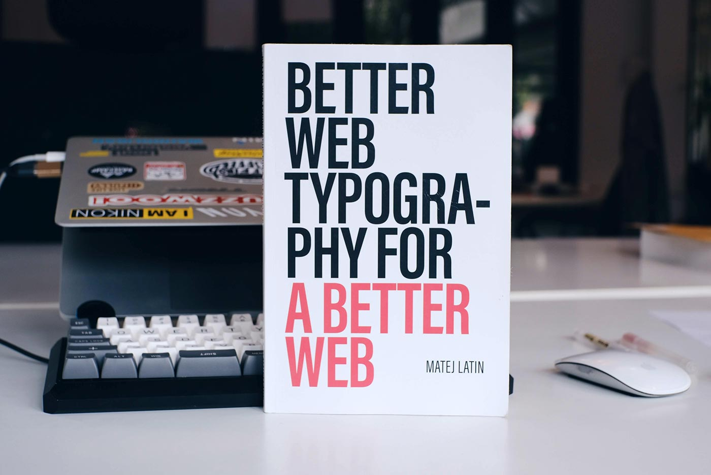 ปกหนังสือ Better Web Typography for a Better Web
