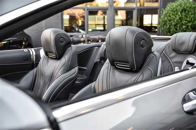 Mercedes-Benz S-Klasse S500 CABRIO AMG-LINE+BURMESTER+HEAD-UP NP.201K afbeelding 2