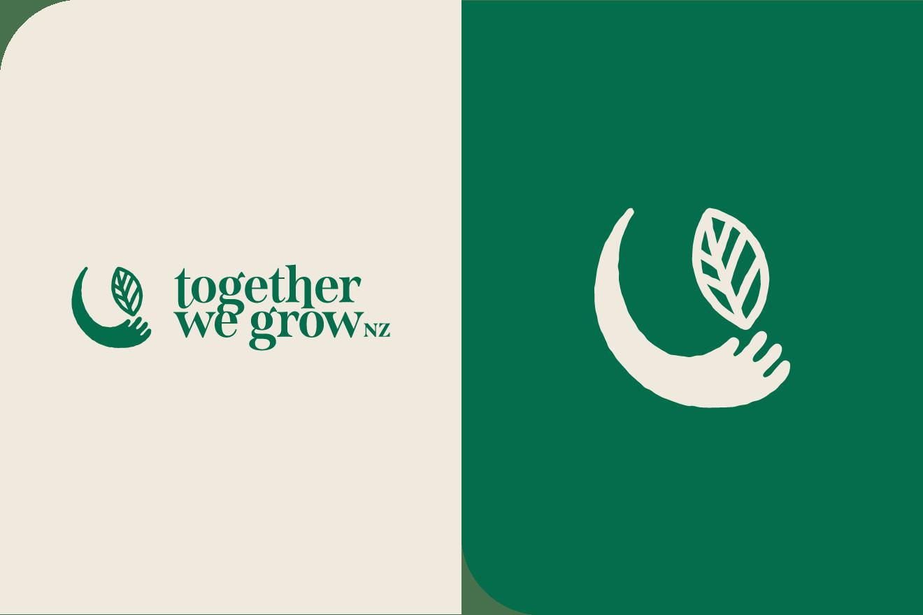 Together We Grow logo design