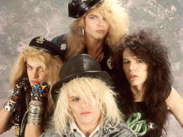 Members of the hair metal band Poison include Bret Michaels, Rikki Rockett, Bobby Dall, and C.C. DeVille