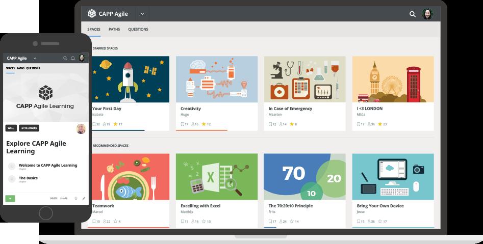 CAPP Agile Learning screenshot