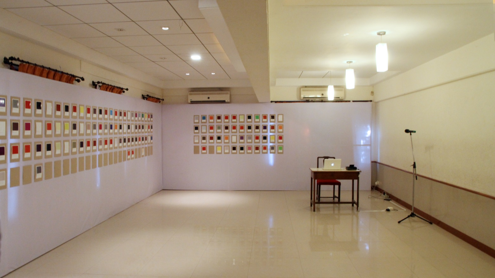 Installation view, Mumbai Assembly, 2017