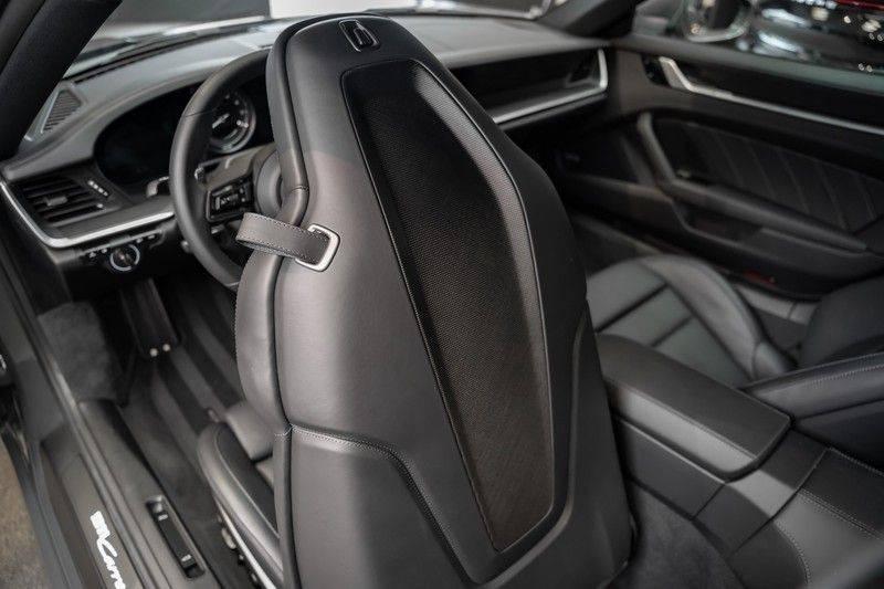 Porsche 911 992 4S PTS Schieffer Grau Slate Grey Sport Design Pakket 930 Leder vol Carbon 3.0 Carrera 4 S afbeelding 16