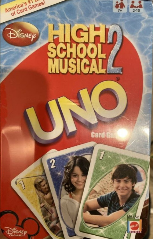 High School Musical 2 Uno