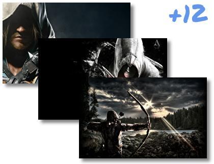 Dark Assassin theme pack