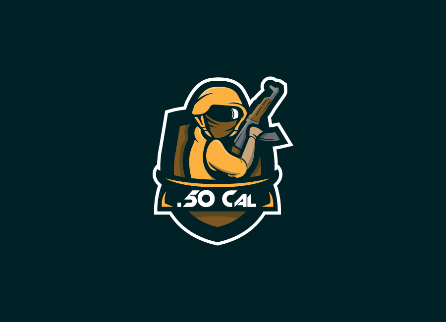.50Cal Gaming team logo