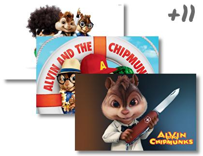 Alvin and The Chipmunks theme pack