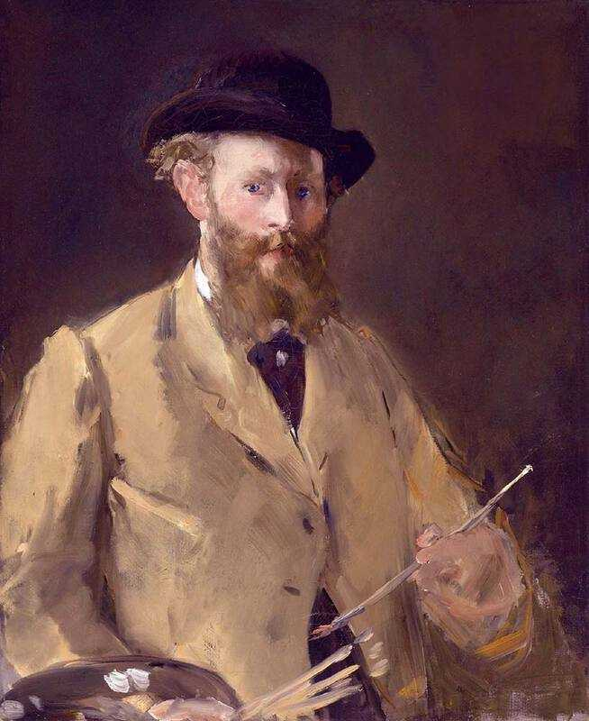 Edouard Manet's Self Portrait with Palette, sold by Sotheby's London in 2010 for £22 million.