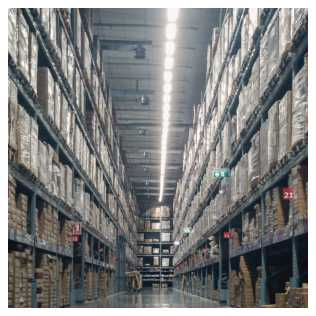 Warehouse stacks
