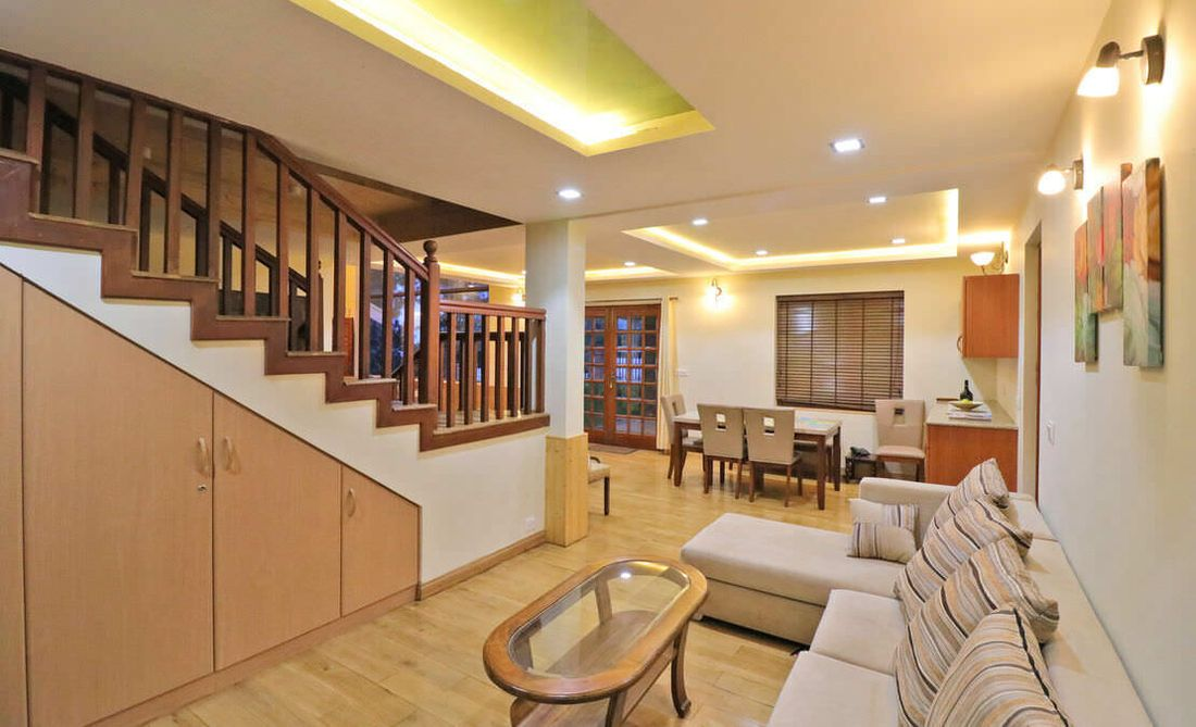 Vitrag Group Fulbari LIving and dining room