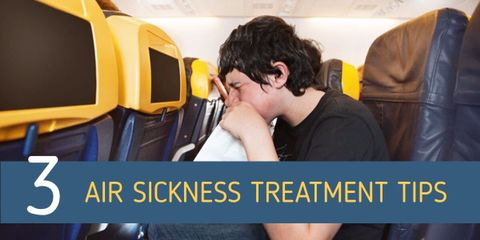 Some very surprising facts about air sickness (or flight sickness) and the 3 scientifically proven approaches to dealing with it. Very easy remedies.
