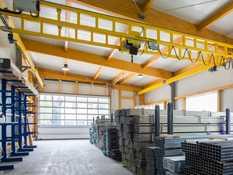 2000kg bridge crane