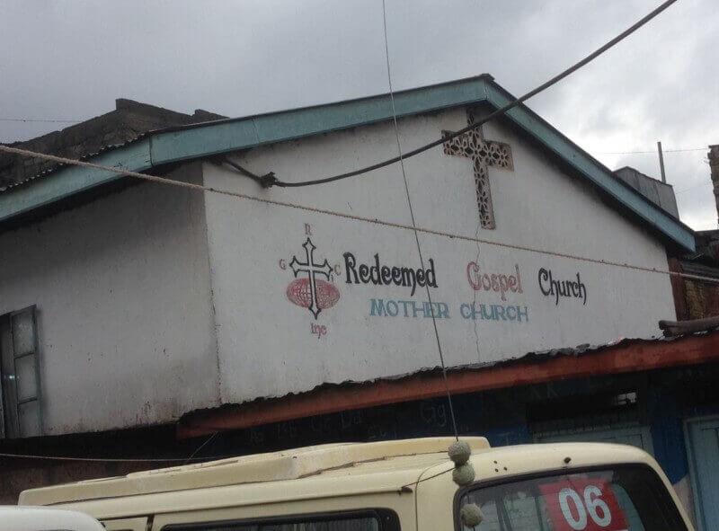 De kerk van pastor Joel