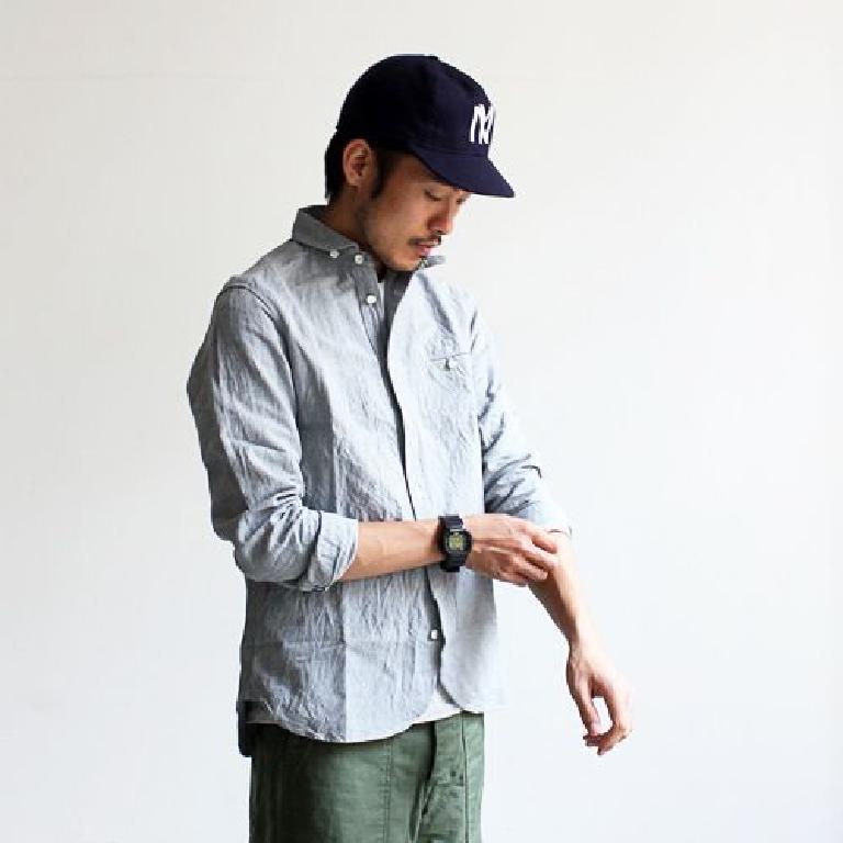 La work shirt Maillot マイヨ, entre workwear et tailoring japonais