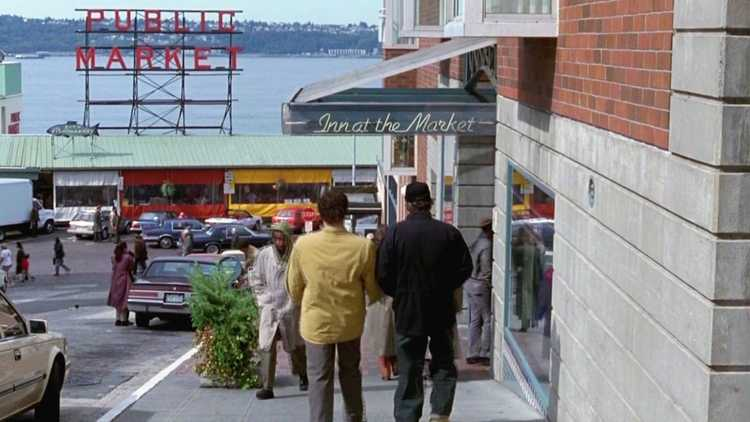 The scene from sleepless in seattle