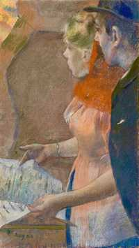 Degas' Dans les Coulisses (In the Wings) was sold by Christie's London for over £9.2 million in February 2018