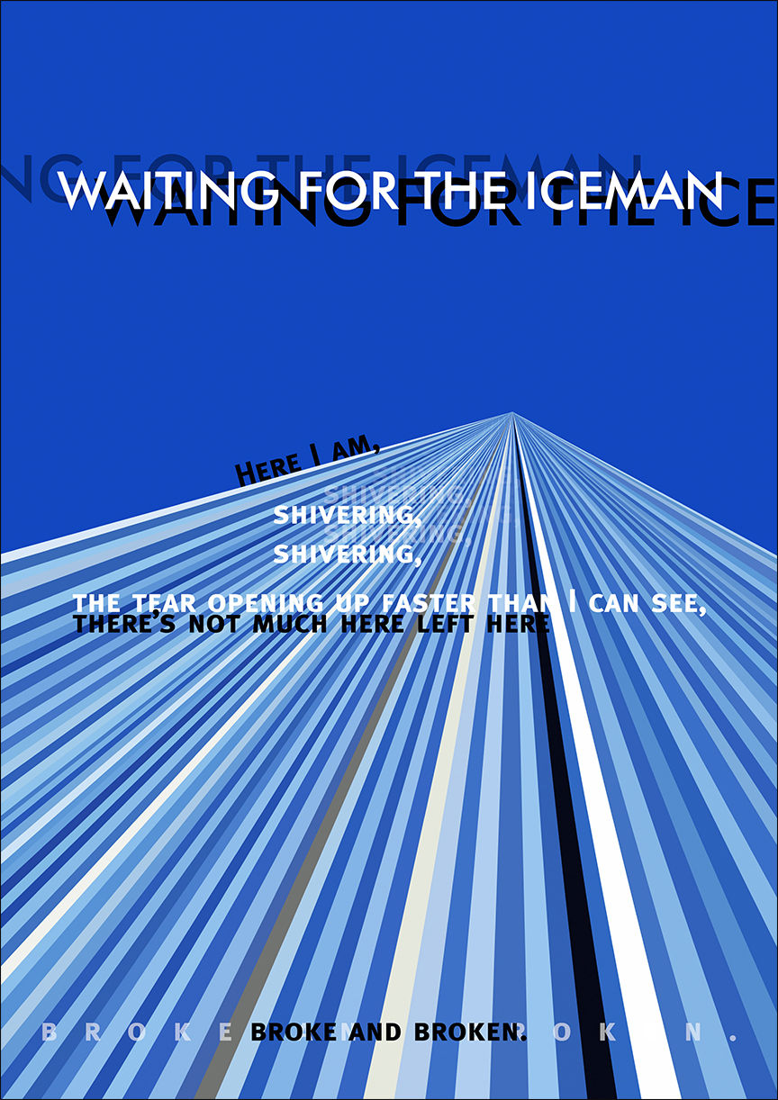 """Waiting for the Iceman: a poem"" Book Cover"