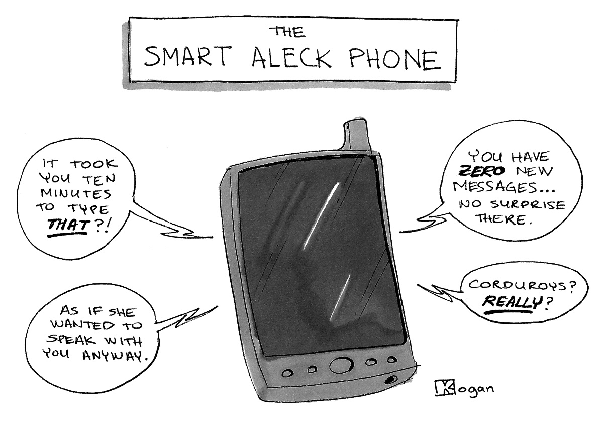 ('The Smart-Aleck Phone')