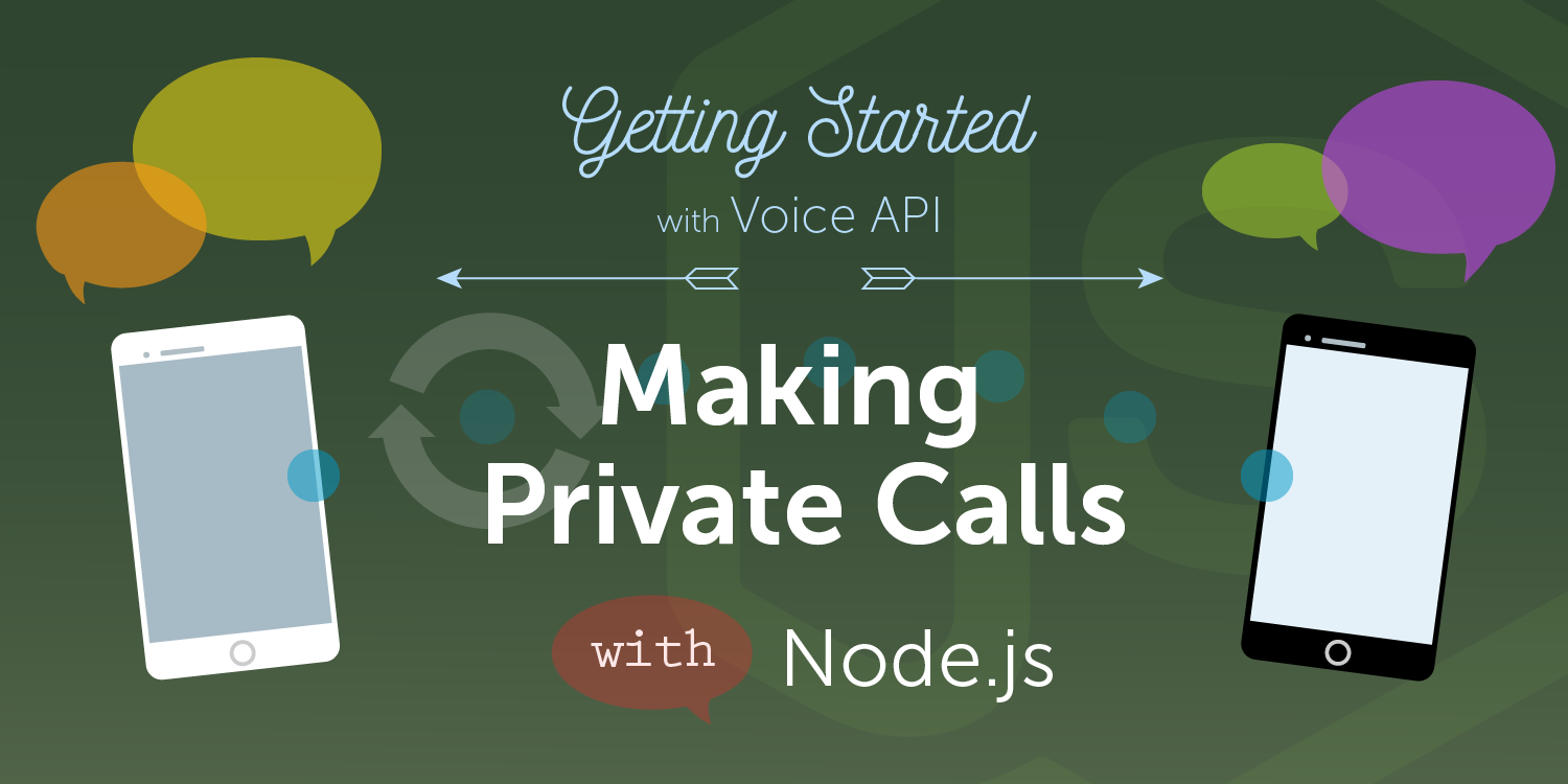 How to Make a Private Phone Call with Node.js