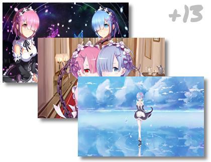 Rem Rezero theme pack