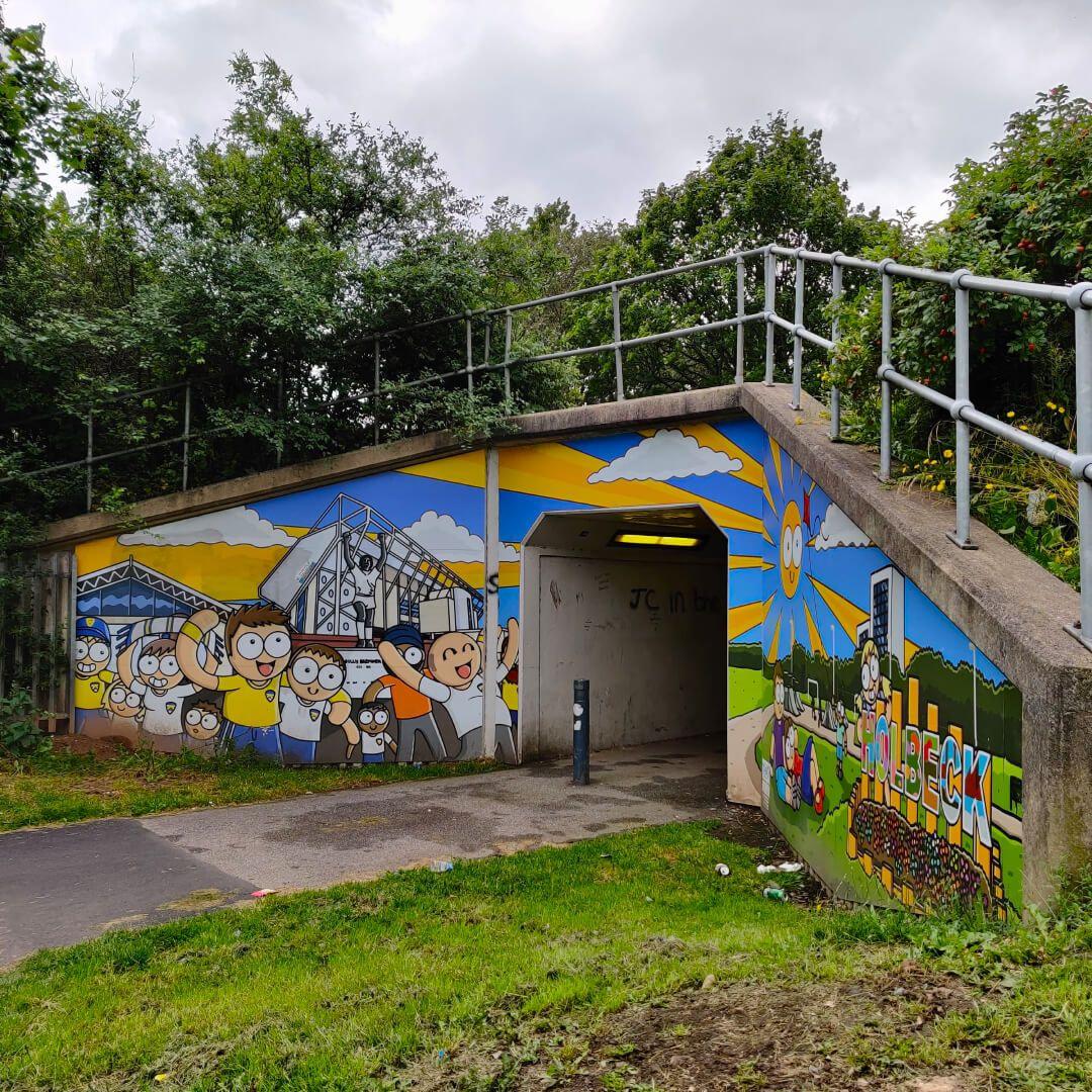 Holbeck Moor Park underpass