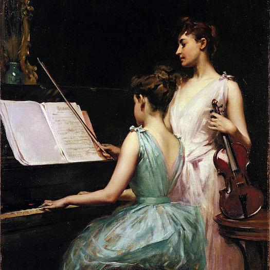 Excerpt from Violin & Piano Sonata No.5 (Beethoven)