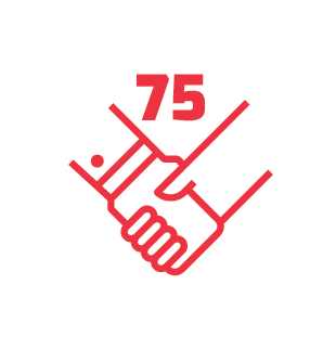 75 companies served with the Awesome Inc Fellowship program