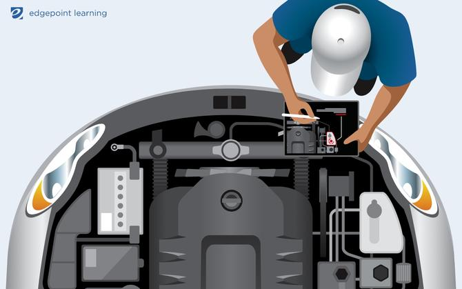 Mechanic using AR