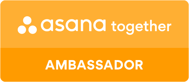 Asana Together Ambassador badge