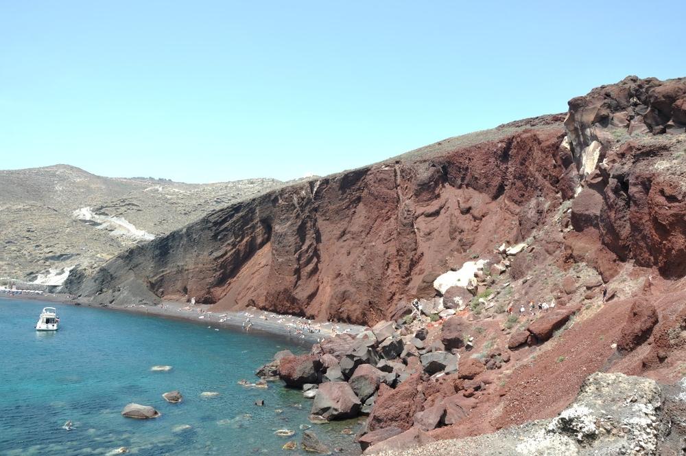 Santorini Red Beach and Akrotiri
