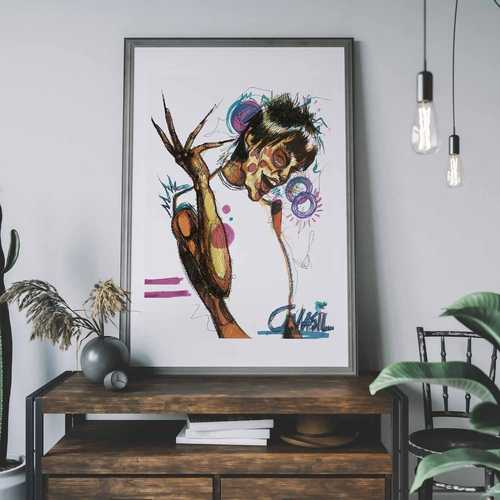 That's Funny Limited Art Print