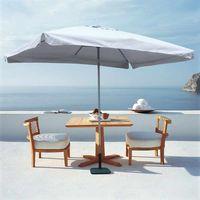 Elios Rechteckiger EDEN Sonnenschirm Gartenschirm 3x2m (ohne Standfuss)