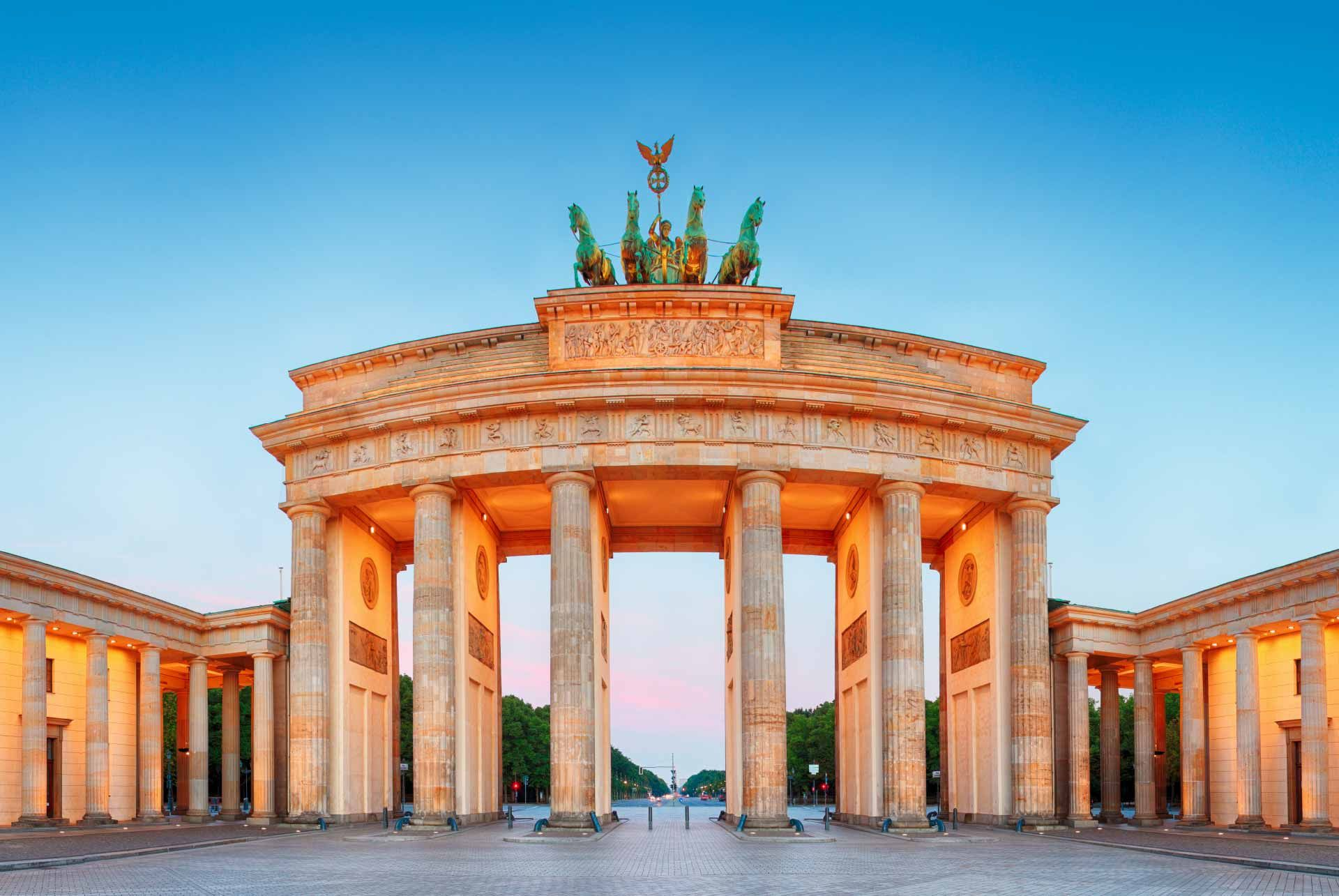 Walking tour of Berlin