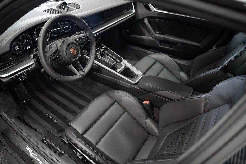 Porsche 911 992 4S PTS Schieffer Grau Slate Grey Sport Design Pakket 930 Leder vol Carbon 3.0 Carrera 4 S afbeelding 13