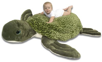 "The Petting Zoo: 60"" Sea Turtle Jumbo"