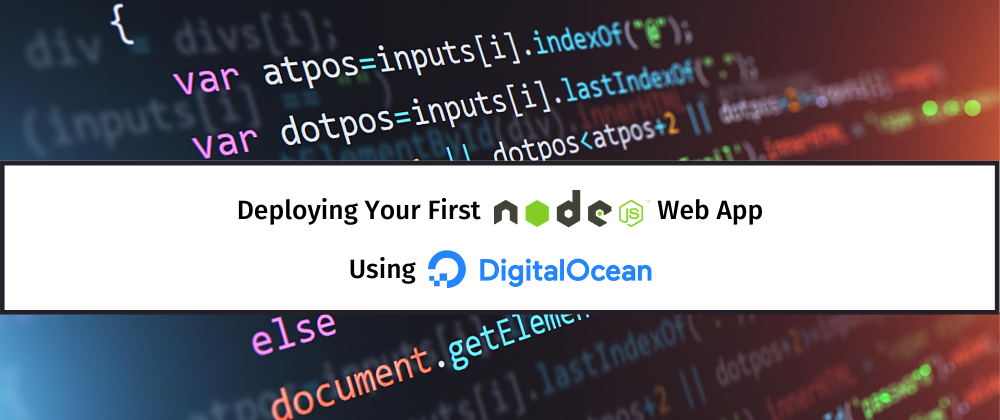 Deploying Your First Node.js Web App