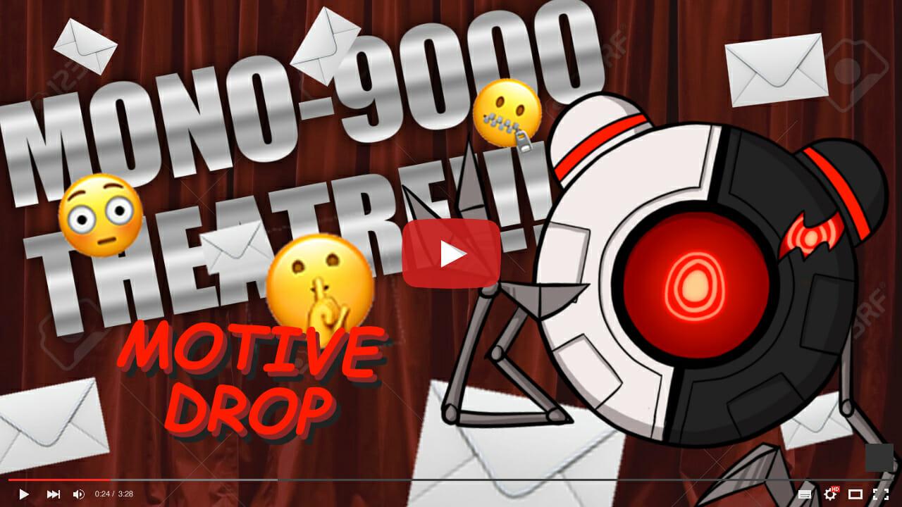 MONO-9000's latest YouTube upload.