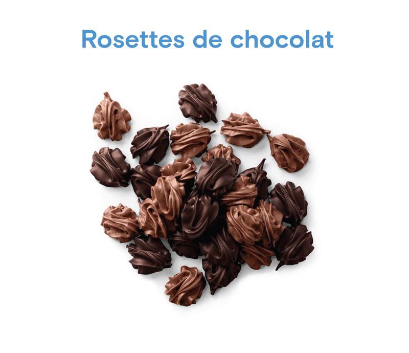Chocolat Rosettes