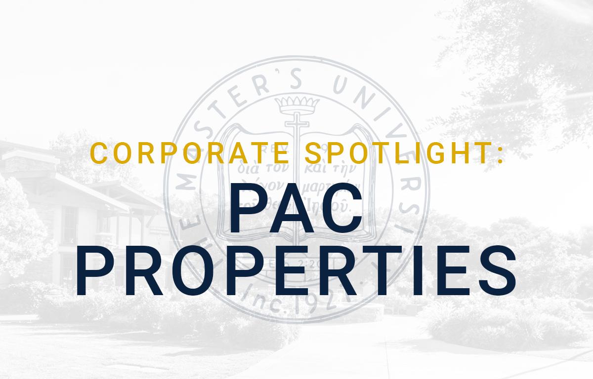 Corporate Spotlight: PAC Properties