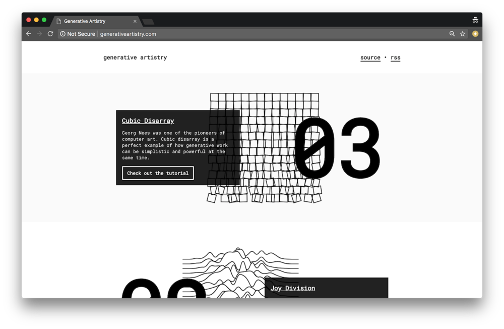 Generative Artistry Site
