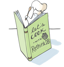 Cookbook for Python - RethinkDB