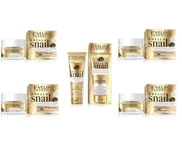 EVELINE ROYAL SNAIL arckrémek | Eveline Cosmetics