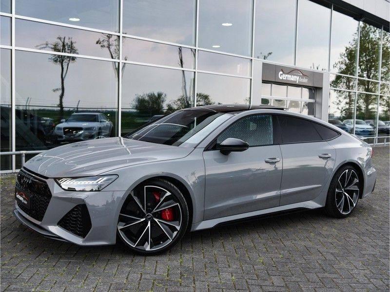 Audi RS7 Sportback 4.0TFSI 600pk Quattro Black Optic Laser-Led Softclose Head-Up Leder-dash RS-Zetels 22-Inch 360Camera afbeelding 1