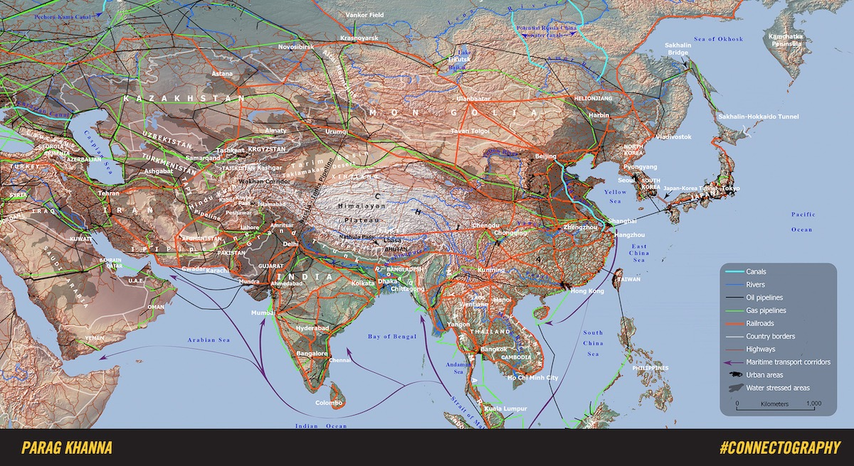 Asia's web of connections