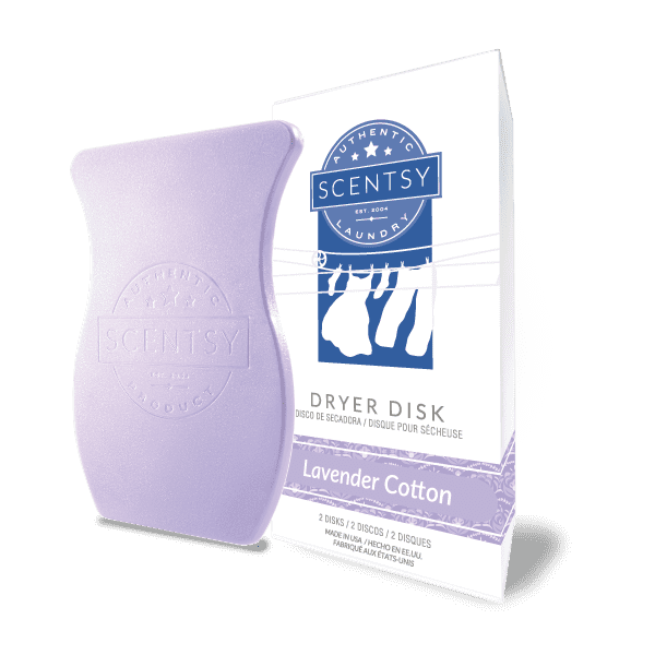 Picture of Lavender Cotton Dryer Disks